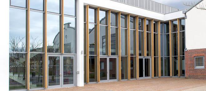 Hybrid Series 3 Frameless casement windows are designed for use in