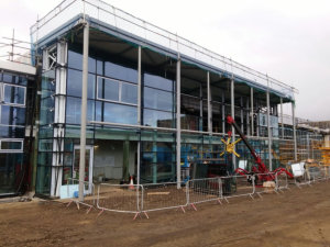 Fenestration from Senior being installed at North Lindsay College in Scunthorpe