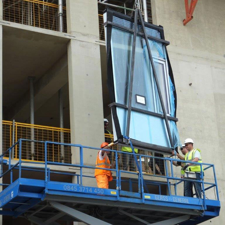 Senior's SF52 Curtain Wall Installed At James Dyson
