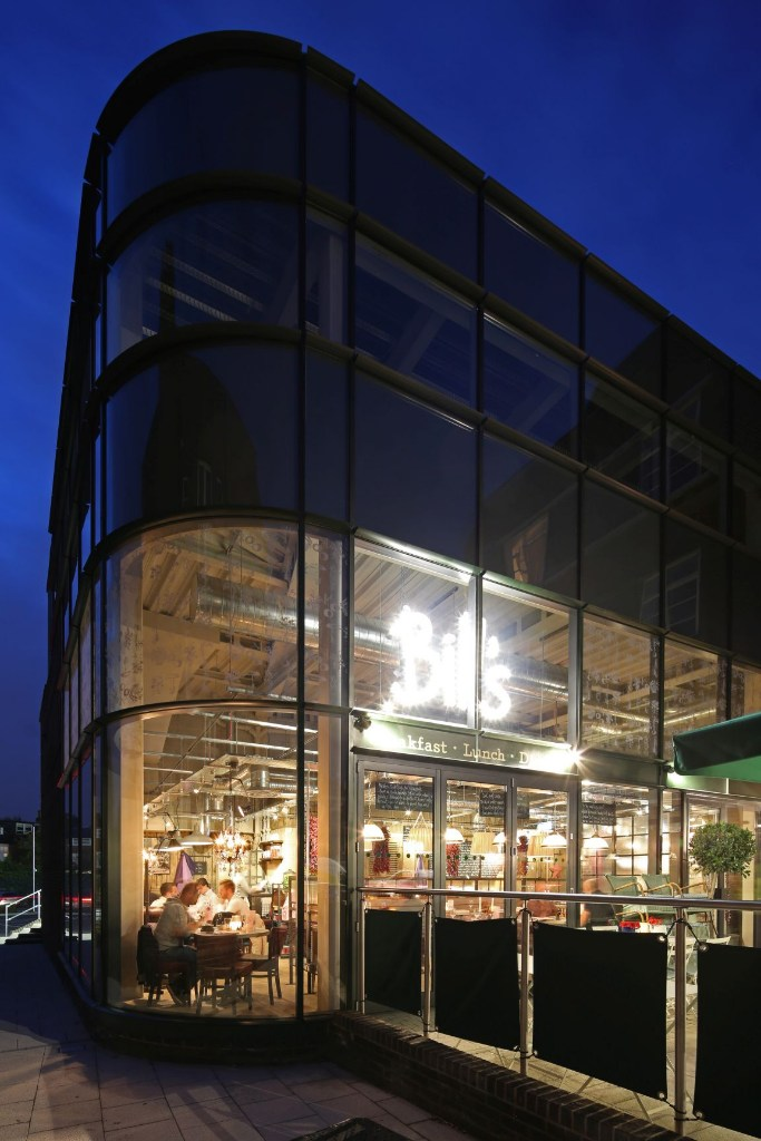 senior s curved curtain wall transforms listed building senior